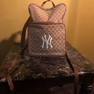 """Used"" Gucci NY Backpack"